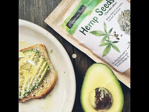 Hemp Seed Avocado Toast