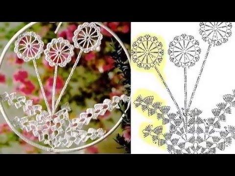 Видеозапись Шикарные украшения вязаные крючком