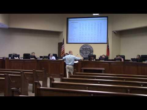 Coroner Austin Fiveash Budget Requst