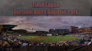 HD Time Lapse from Durham Bulls Athletic Park DBAP