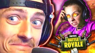 VOICE CHANGER GIVES SCARED SQUEAKERS NIGHTMARES ON FORTNITE PART 2!