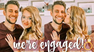 WE'RE ENGAGED, THE PROPOSAL STORY | Kelly Lamich