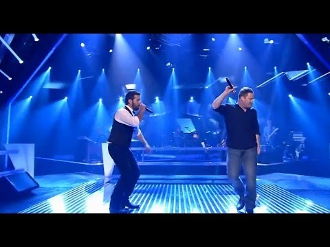 Fredrik vs. Holger - Lonely Boy | The Voice of Germany 2013 | Battle