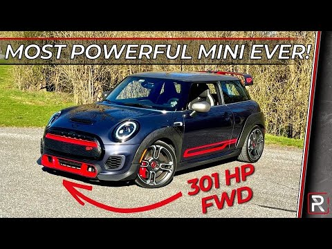 The 2021 Mini Cooper JCW GP is an Abusive Riding, Torque-Steer Prone Hot Hatch
