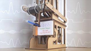 DIY Mechanical Computer : Harmonic Analyzer