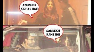 Aishwarya Rai Bachchan Gets Angry On Abhishek Bachchan For Making Her Wait Outside For Long