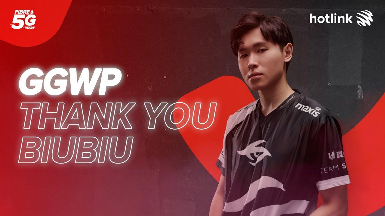 Thank you, BiuBiu.