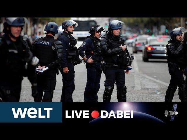 WELT LIVE DABEI: Frankreich rüstet sich für erneute Corona-Massenproteste