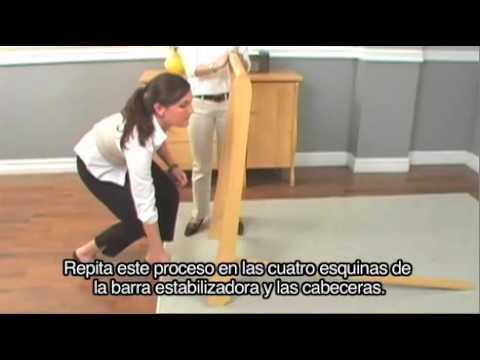(SPANISH) Delta Venetian Sleigh 3-in-1Crib Assembly Instructions