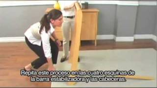 (spanish) Delta Venetian Sleigh 3-in-1crib Assembly Instructions