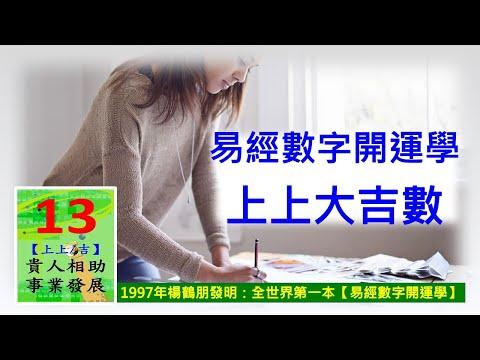 易經數字開運學 【手機號碼、車牌號碼~末兩碼上上大吉數】