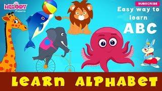 Learn Alphabet | Learn ABC | ABC Learning| Easy way to Learn Alphabet