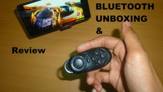 Bluetooth Gamepad Review And Unboxing