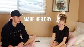Download I AM LEAVING! *prank on my little sister*   Tanner Stewart Mp3 and Videos