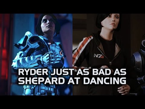 Mass Effect Andromeda - Ryder Just as Bad as Shepard at Dancing