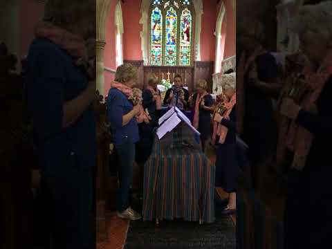 """Lavender Blue"" for 2-octave handbell choir - The Fyfield Handbell Ringers"