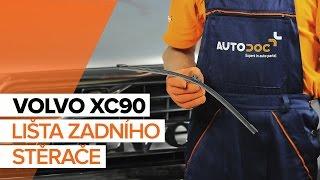 Výměna Klinovy zebrovany remen VOLVO XC90: dílenská příručka