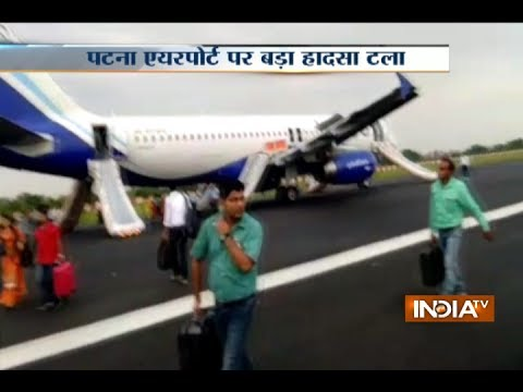 IndiGo plane suffers tyre burst while taking off from Patna airport, All passengers safe
