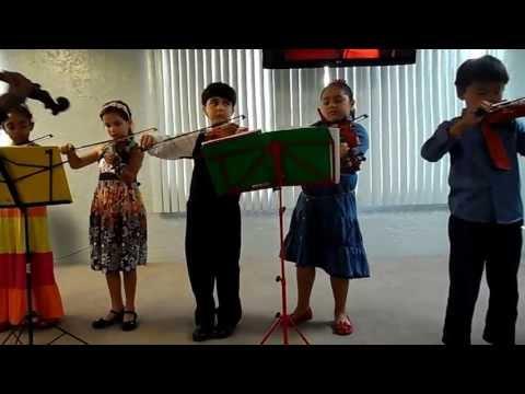 Violin recital at Westwood Christian School, May 2013