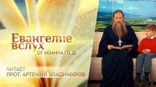 Обложка ЕВАНГЕЛИЕ ВСЛУХ ОТ ИОАННА ГЛАВА 21 ПРОТОИЕРЕЙ АРТЕМИЙ ВЛАДИМИРОВ