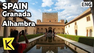 【K】Spain Travel-Granada[스페인 여행-그라나다]알람브라 궁전/Alhambra/Andalucia/Court of the Lions/Two Sisters