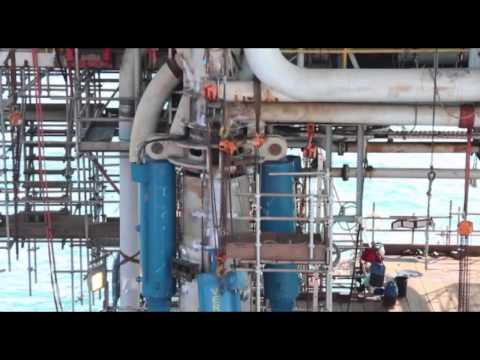"""Serial How To Make The Things: """"How to repair offshore platform 2"""" Segment 4 of 4"""
