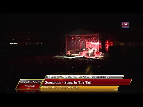 Scorpions - Sting In The Tail (Live @ Zimbru Stadium) (14.10.10)
