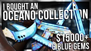 I BOUGHT AN INSANE BLUE GEM COLLECTION ($15,000+)