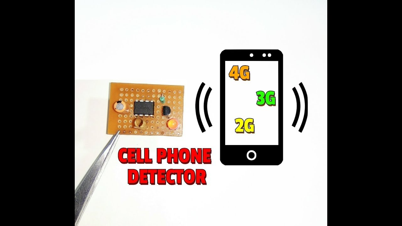 Simple Mobile Phone Circuit Sample Diagram Wiring Symbols Cell Detector How To Make A Rh Youtube Com