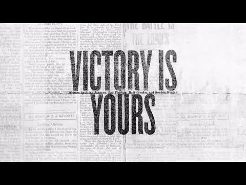 Victory Is Yours (Official Lyric Video) - Bethel Music | VIC