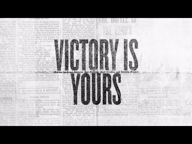 Victory Is Yours (Official Lyric Video) - Bethel Music | VICTORY