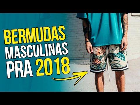 🔥 BERMUDA MASCULINA pra 2018: Tendências em Bermudas  - Estilo Masculino 🔥