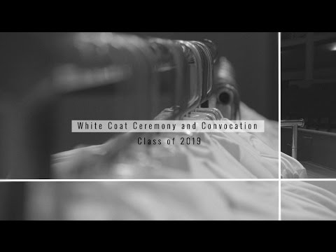 UVA, School of Medicine - White Coat Ceremony, Class of 2019