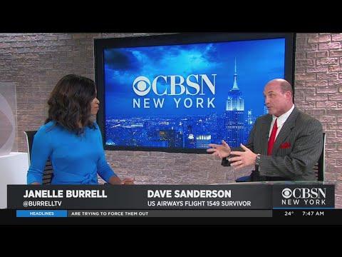 'Miracle On The Hudson' Survivor Dave Sanderson