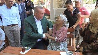 Cumhurbaşkanı Erdoğan Antik Kenti Gezdi