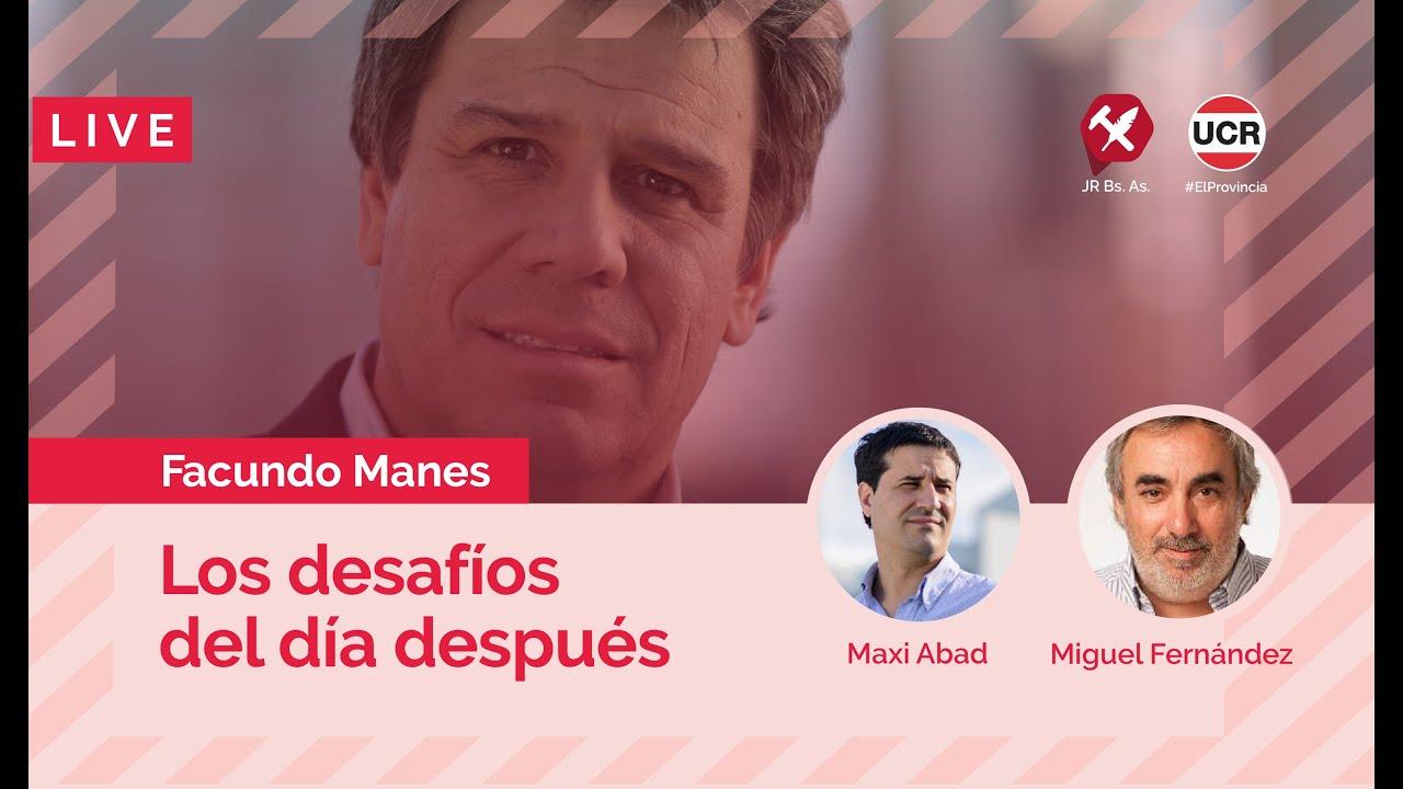 Los desafíos del día después. Conferencia de Facundo Manes en #ElProvincia