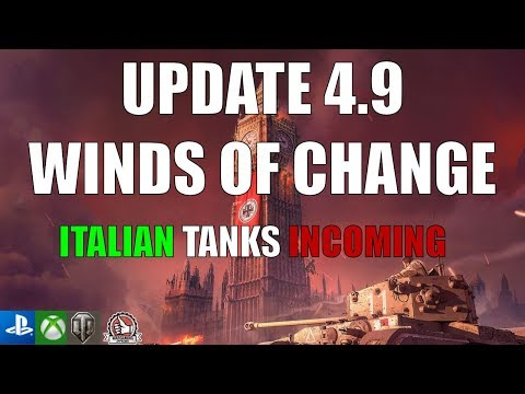 Update 4.9, Compact And Concise -  World Of Tanks Console