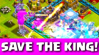 Clash of Clans - SAVE the KING! One simple tip to win more Battles