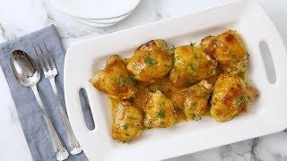 Quick Apricot-Dijon Glazed Chicken- Martha Stewart