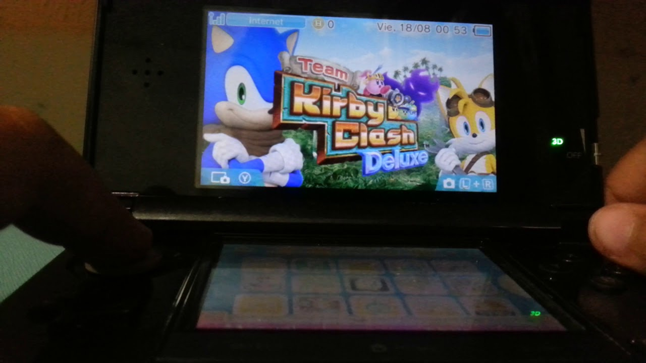 MI PRIMER GAMEPLAY DE NINTENDO 3DS!!!
