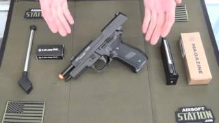 Sig Sauer P226 Gas Blowback Pistol by KJW