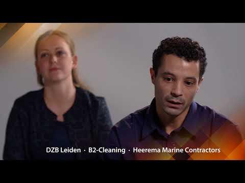 DZB Leiden, B2-Cleaning met Heerema Marine Contractors