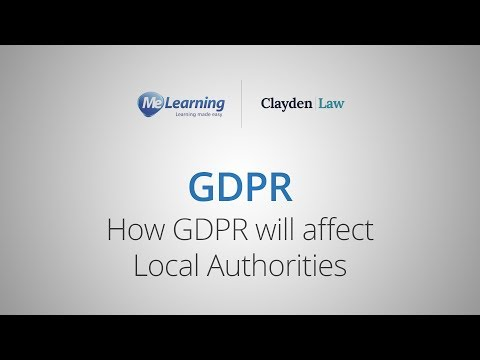 GDPR - How GDPR will affect Local Authorities