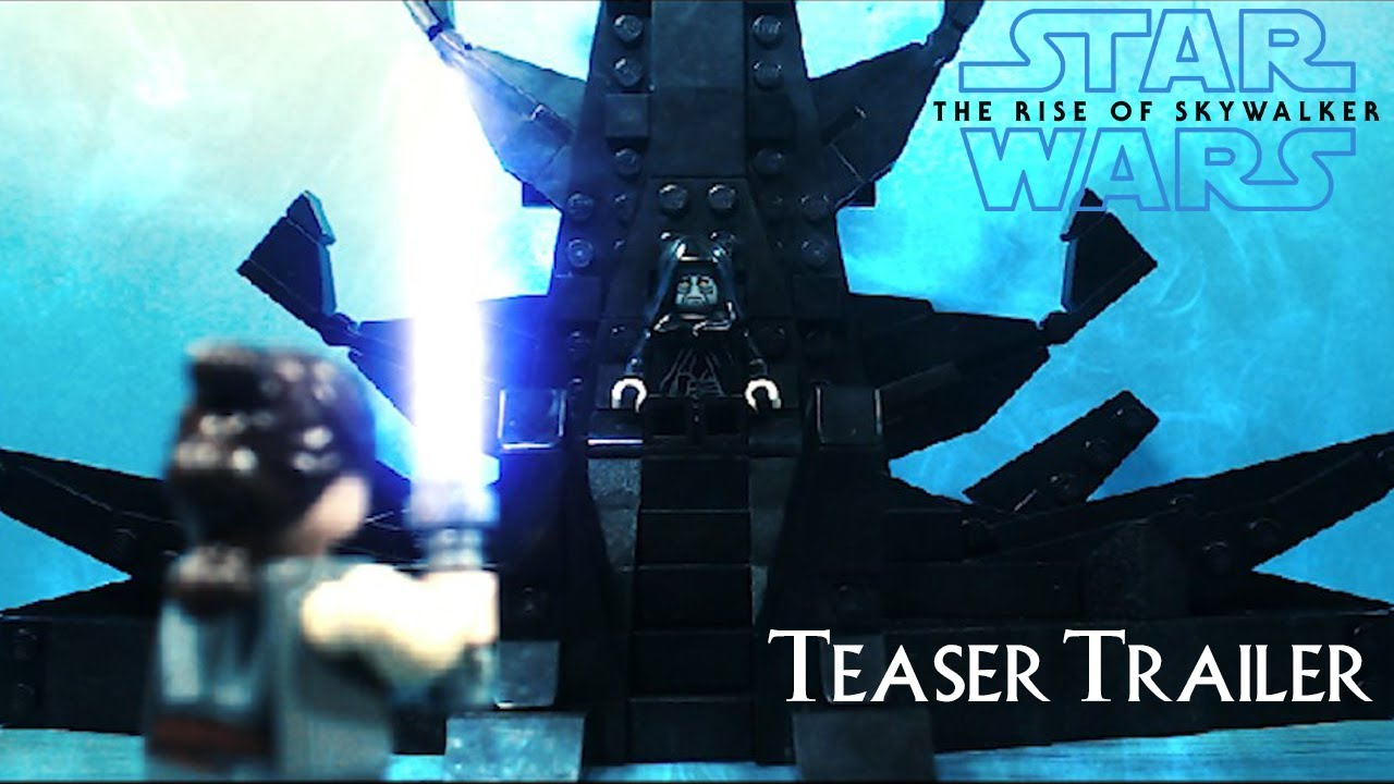 Lego Star Wars The Rise Of Skywalker Teaser Trailer Brickfilm Stopmotion Animation Youtube