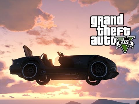 GTA 5 Online My Cool Firetruck, the Harry Potter Car and More Gate Launching