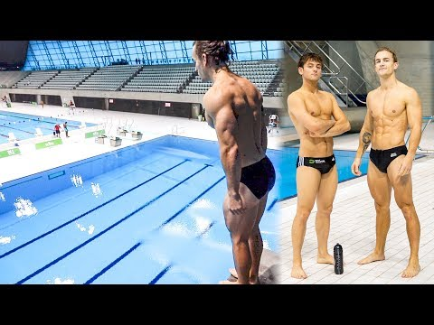 BODYBUILDER TRIES OLYMPIC DIVING (Ft Tom Daley)