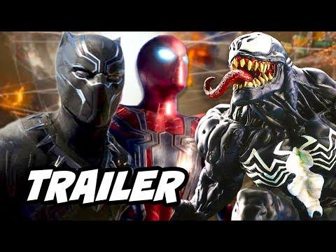 Black Panther Trailer - Avengers Spider-Man Venom Breakdown