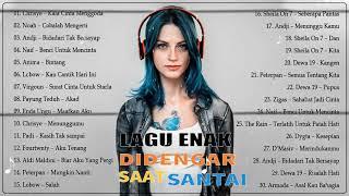 30 Lagu Enak Didengar Saat Santai dan Kerja 2020 🎧 Kumpulan Lagu Pop Indonesia Spesial Tahun 2000AN