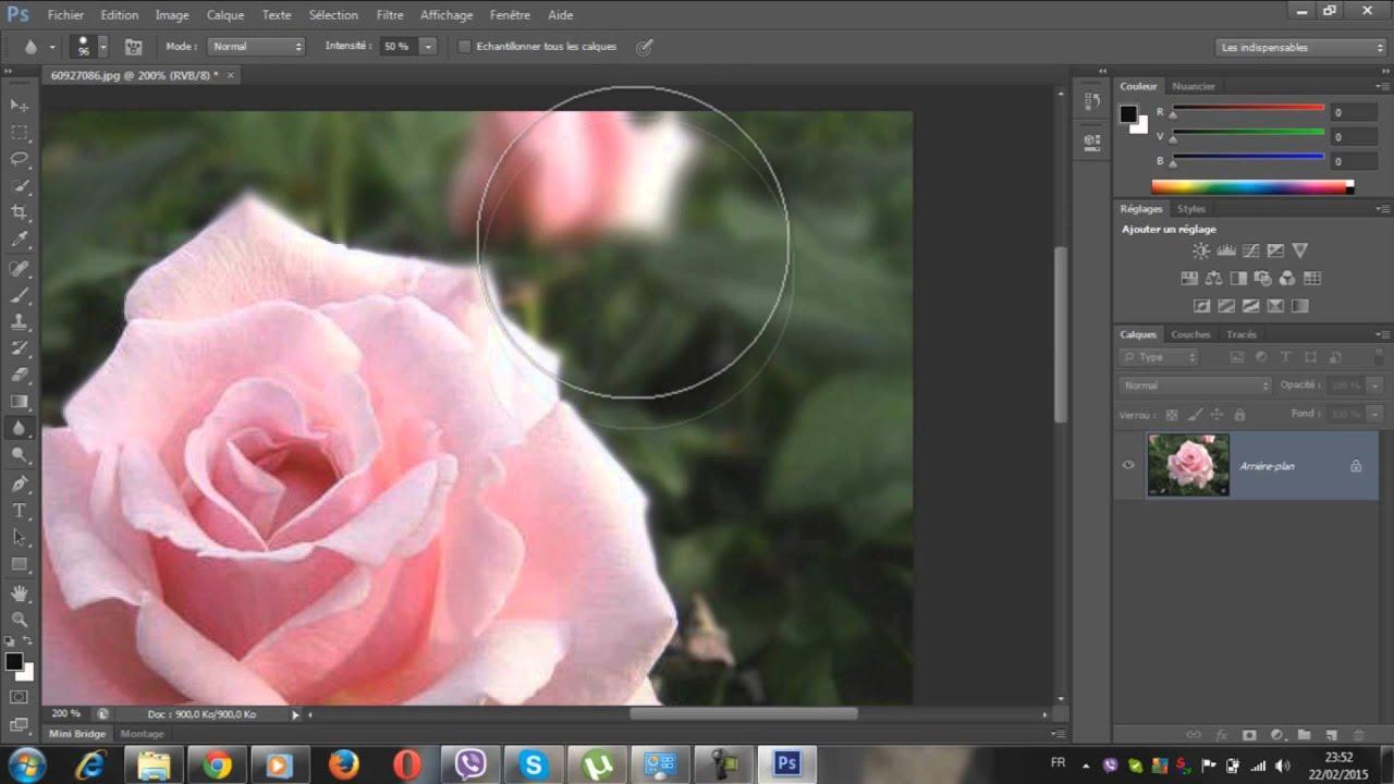 Comment Flouter Une Photo Avec Photoshop 2015 L Arriere Plan D Une