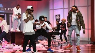 chance the rapper performs no problem with lil wayne and 2 chainz
